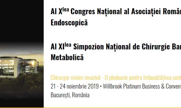 Al Xlea Congres Național al Asociației Române de Chirurgie Endoscopică