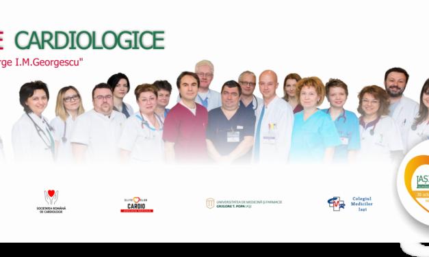 """Zilele Cardiologice """"Prof. Dr. George I.M. Georgescu"""", editia a V a"""