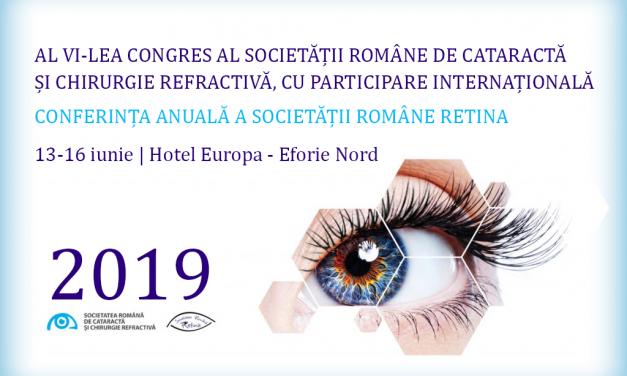 Al VI-lea Congres al Societății Române de Cataractă și Chirurgie Refractivă