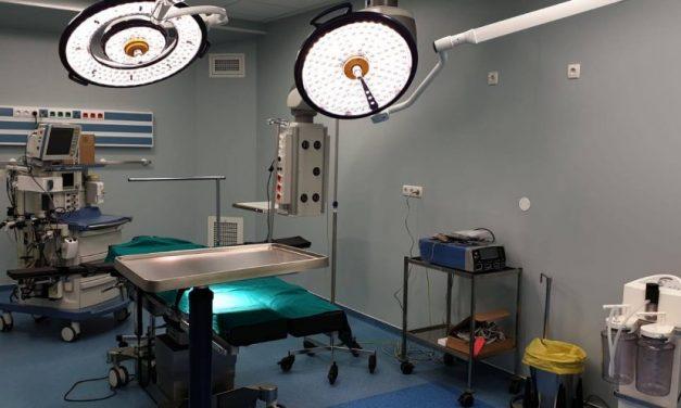 Spitalul Judeţean de Urgenţă Brăila are un bloc operator nou, cu 11 săli dotate la standarde înalte